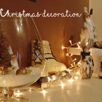Στολισμένες Χριστουγεννιάτικες γωνιές