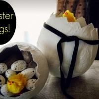 Διακοσμητικά αυγά με γυψόγαζα!