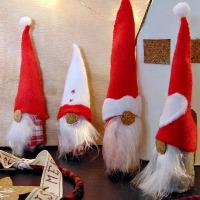 Χριστουγεννιάτικα ξωτικά από φελλούς